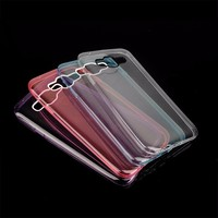 Wholesale Alibaba TPU Clear Soft Ultra-Thin Transparent Phone Case Cover For Samsung Galaxy E5