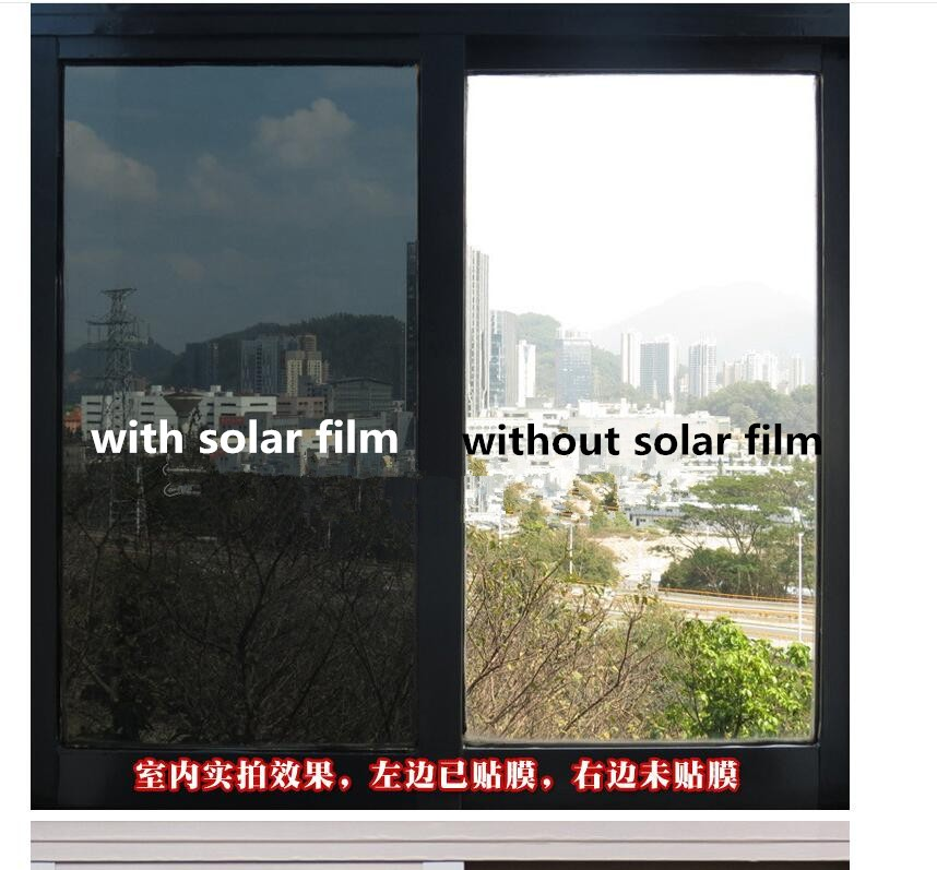 0.05mm Royal Glory Safty Explosion-proof Solar Decorative Window Film