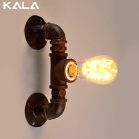 metal up and down vintage wall lamp with ST64 Edison bulb for dinning room and bar ,coffee