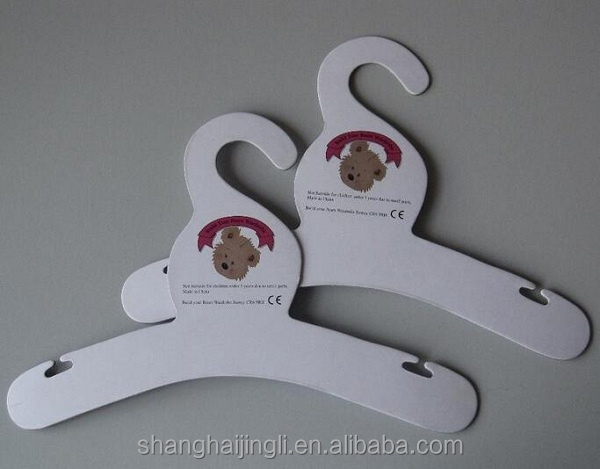 Dog clothes printed paper clothes hangers
