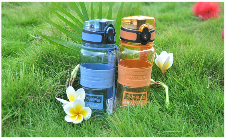 12oz 350ml water plastic clear joyshaker water bottle wholesale