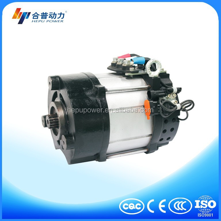 48v for electric forklift ac motor wind for Battery powered dc motor