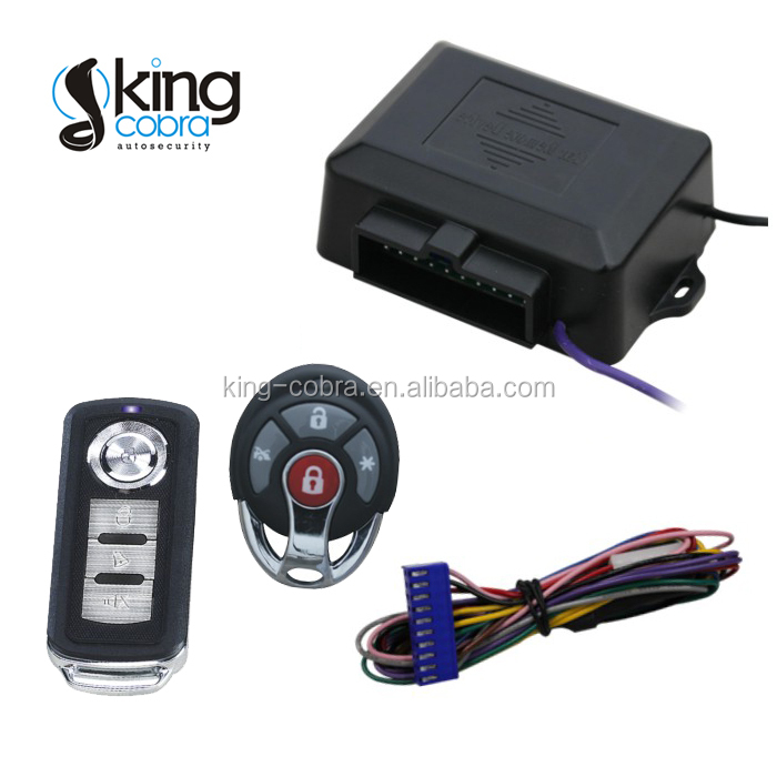Car Keyless Entry System with trunk release and window output, turning light