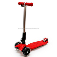 3-wheel Scooter with Illuminating LED Wheels | Safe, durable, high quality! Let your child ride safely and in style!
