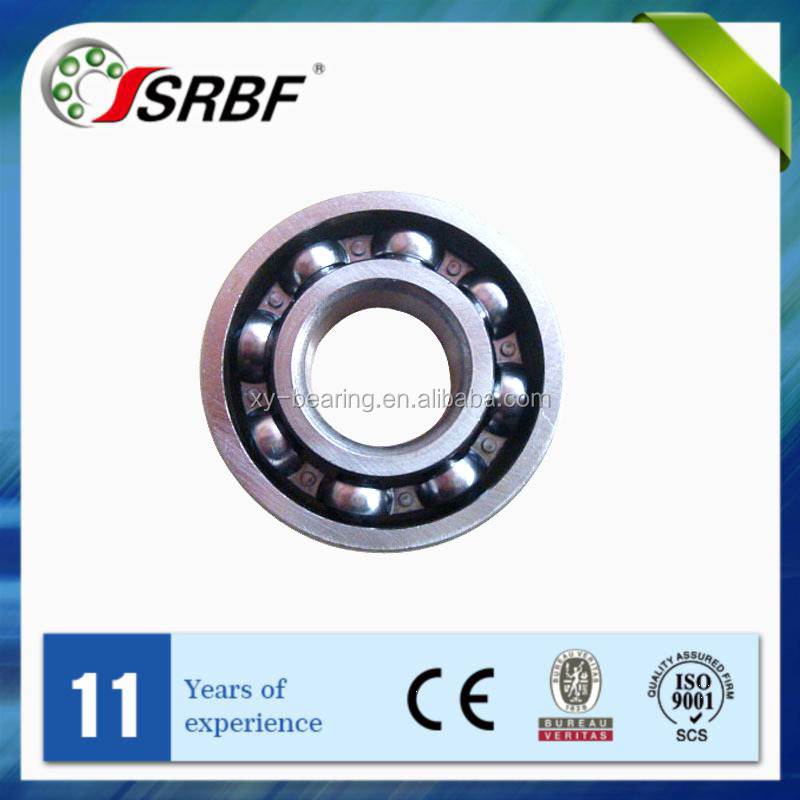 Manufacture SRBF deep groove ball bearings 6303 2RS