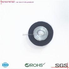 OEM ODM 2015 soft/hard 3M self-adhesive silicone rubber feet with screw nut