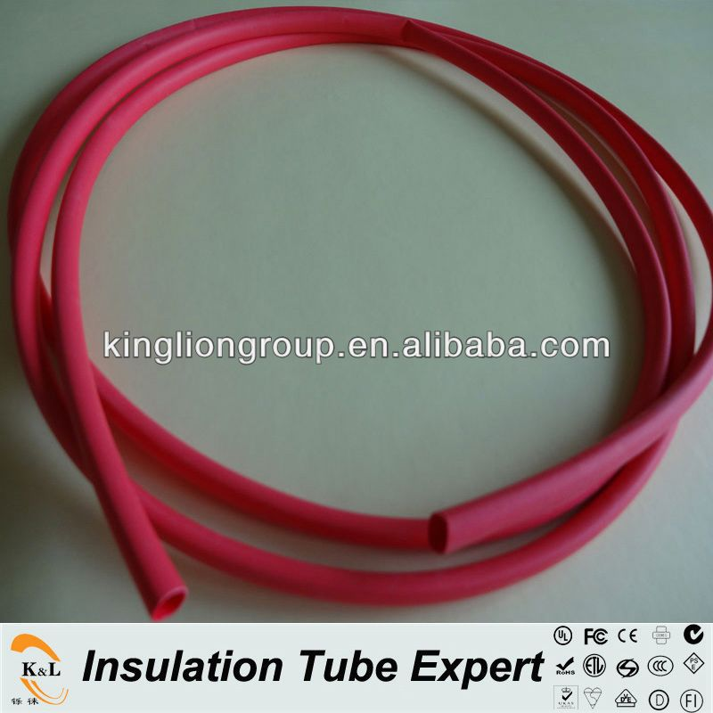 heat shrikable silicone rubber tube