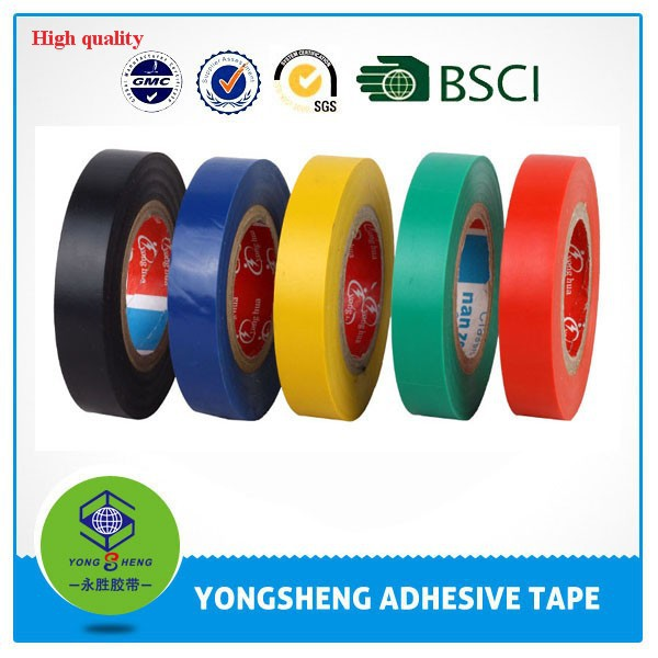 Cheap China supplier YS brand warning pvc electric insulation tape price