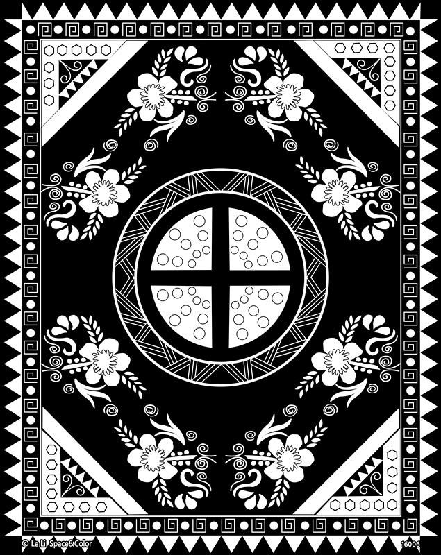 Black Rose Art Fuzzy Velvet Coloring Poster 2 Prints - Buy Velvet ...