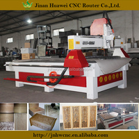 1300*2500mm wooden furniture making on solid wood board OEM cnc machine