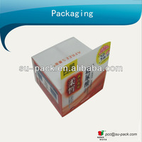 Printing PET packaging box for skin care