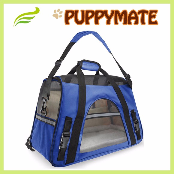 Pet Products Foldable Soft Dog Kennel Pet Carriers / Pet Carrier / Cute Dog Carrier Bag