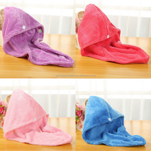 Good water hair dry microfiber towel /microfiber hair dry towel/microfiber Magic hair Drying salon