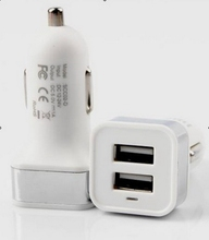 New style promotional 20w dual usb car charger