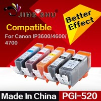 PGI-520 CLI-521 ink cartridge for canon IP3600 3680 4600 4680 4700 MP540 620 630 980 MX860 870