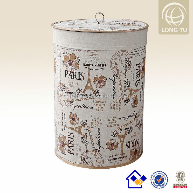 foldable Bamboo industrial polyester laundry bag