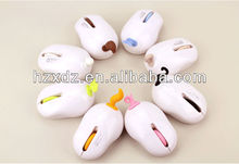 Wholesale 2.4GHz USB 2.0 Wireless Mouse,Animal USB Style,Cartoon computer wireless mouse
