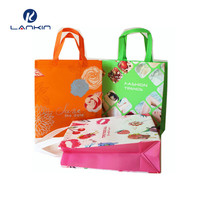 pp non woven laminated tote bag China factory