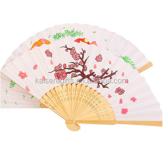 Advertising Customized folding paper fan