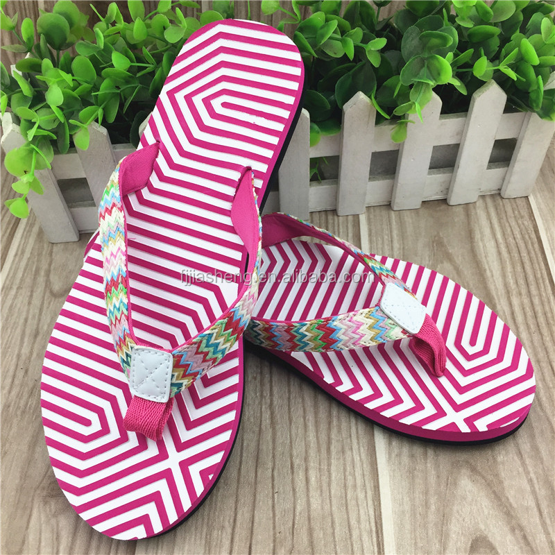 wholesale summer silppers eva flip flop for women 2017