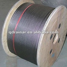 1x7 1x19 6x37 Pvc Coated Steel Cable gal wire rope Plain steel wire rope flexible steel wire rope