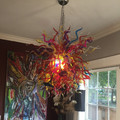 wholesale hand blown murano glass art colors chandelier