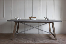 Vintage industrial furniture pictures of wooden dining table new model