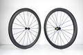 Toray t800 full carbon 50mm road bicycle carbon wheels UD black matte carbon bike wheels clincher and tubular