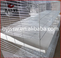 3 / 4 Tiers Cheap Large Cage For Female / Breeding/ Commercial Rabbit