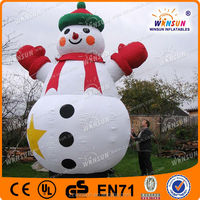 Hot sale inflatable christmas decoration snow globe