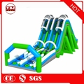 Perfect design used outdoor inflatable obstacle course games
