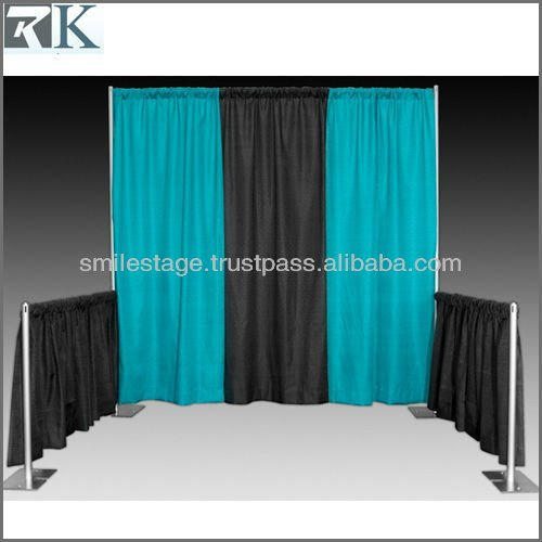2013 hot sale pipe and drape system for photo booths