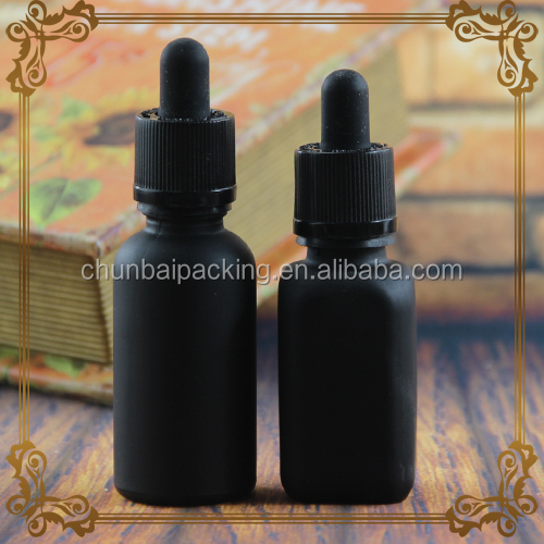 manufacture 15ml 30ml flat square clear glass bottle for e juice