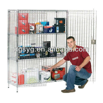 Chrome Wire Security Cages-12 Years Professional Manufacturer