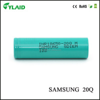 High capacity 18650 battery for samsung 20Q 2000mah/ lithium ion car battery