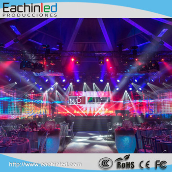 Digital DJ Equipment P3.9 led screen , led display for DJ Booth