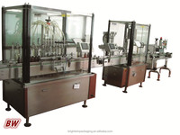 factory price medicine liquid /oral liquid/syrup/iodine bottling machine