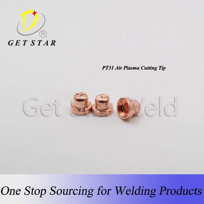 PT31 Plasma cutting copper cutting electrodes/ cutting nozzle/tip