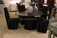 8 chairs table indoor contemporary dining table and chairs