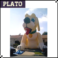 PVC inflatable dog/cartoon decoration for decoration
