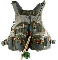 new professional 12 pockets adjustable camping hiking climbing hunting fly fishing vest Mesh Vest