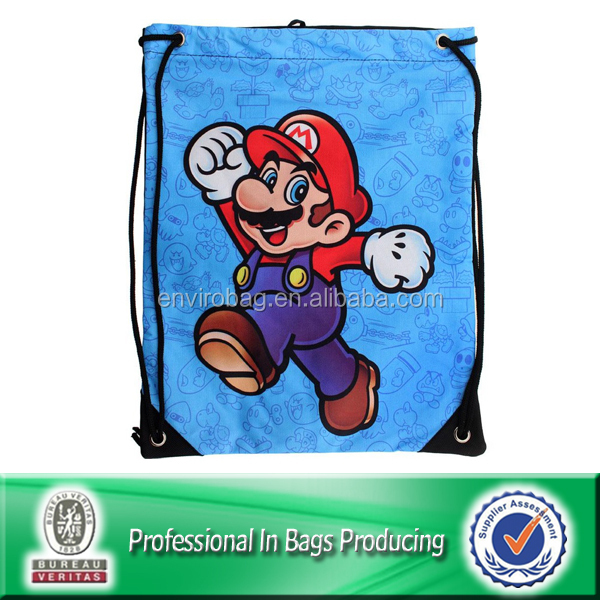 Nice Workmanship cotton children sling bag in lovely cartoon designs