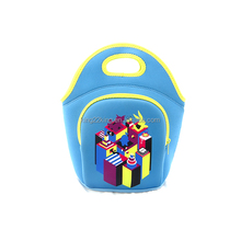Durable Promotional Neoprene Lunch Bag Insulated Cooler Bag