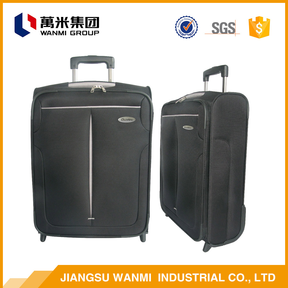 Best selling simple small cabin size trolley luggage bag