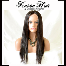 Kason Hair 100% Top Quality Grade 6A Virgin Human Hair Silk Base Top Full Lace Wig Silk Lace Cap For Wig Making