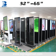 46 Inch Floor Stand Digital Signage Led Display Screen Indoor Cf Card Player Full Hd 1080P Usb Media Player For Advertising
