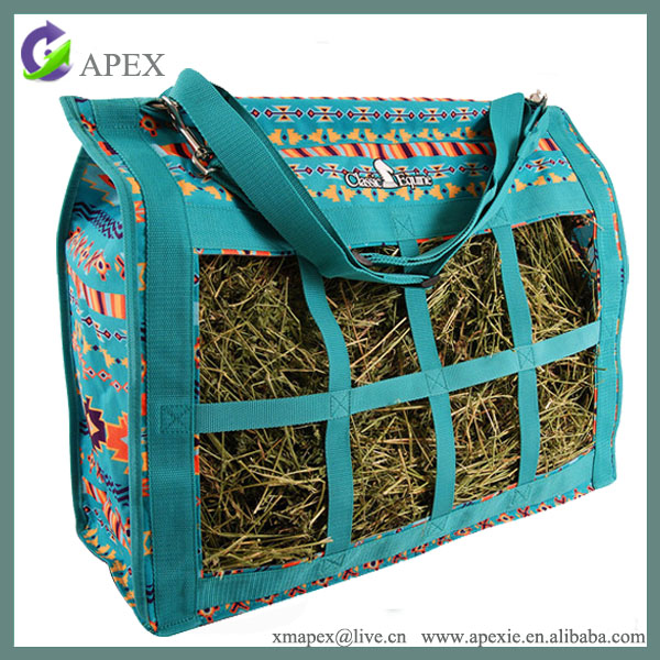 Stable Top Load Hay Bag Tote Horse Tack