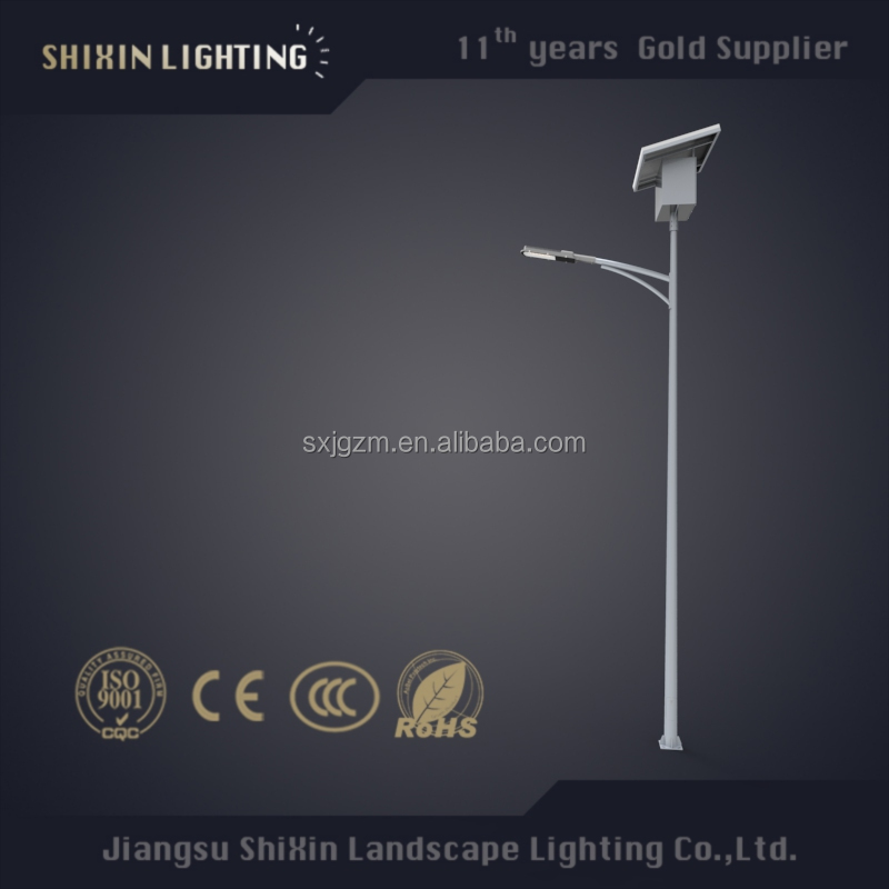Single arm LED solar street light on sale