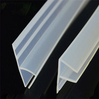 Shower Room Door Components Rubber Waterproof Weather Seal Strip