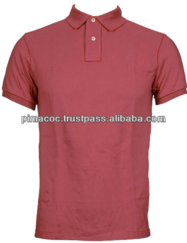 100% Pima Cotton Classic Polo Shirt